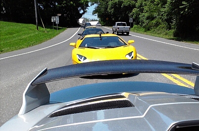 Lambo and Exige tail